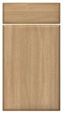 Light Walnut kitchen door and drawer fronts