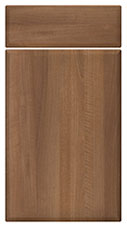 Medium Walnut kitchen door and drawer fronts