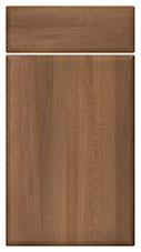 Medium Walnut kitchen door and drawer fronts