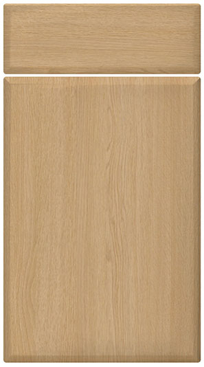 Montana Oak kitchen door finish