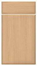 Beech kitchen door and drawer fronts